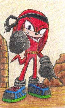 Knuckles - Revamped by Kage-Angel02