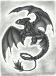 Toothless by TheGreenDragonGirl