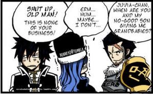 Silver who teases Gray about Juvia being his Gf by Asukadattebayo