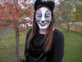 Cat face makeup 2 by Meliss