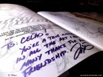 Mike Debalfo Card autographed sketchbook 3 by celaoxxx