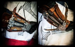 AC UNITY - New Phantom Blade and Flag by JO-Cosplay