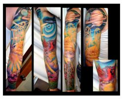 Memorial Sleeve by Marthyself
