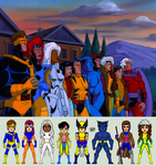 X-Men: The Animated Series by EverydayBattman