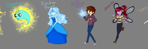 Adventure Time With Eli And Sparky Characters by ninammm1
