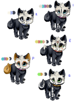 day of the dead adopts by nevaeh-lee