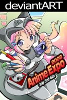 anime expo poster design 3 by nekoshiei