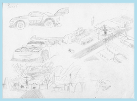Some sketchs for Cars comic 1 by Weirda208