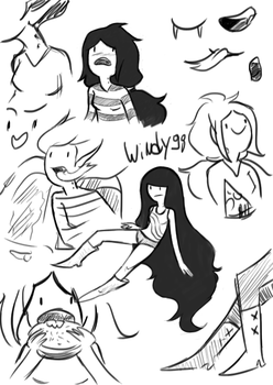 Marcy sketches by windy98
