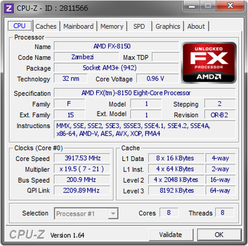 CPU-Z Validation by EVIL-MINDS-CREATIONS