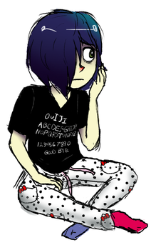 He's wearing my clothes by AntiShadowPerson