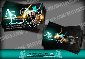 AS Photography Business card by DeityDesignz