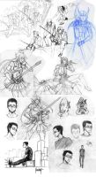 Sketch compilation 5? by Yuushin7