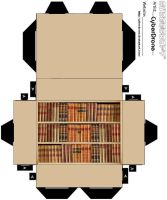 Cubee - Bookcase by CyberDrone