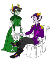 Royalstuck by Textbookdoppelganger