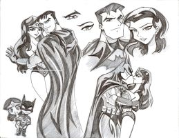 Batman Wonder - Hero Lovers by kei111