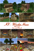 KX_Wooden House for Minecraft [DL] by chococat9001