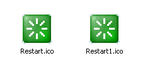 restart icons by jaggedben