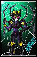 Airachnid Chibi by Laserbot