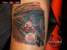 The Rabbid's Scream by dottcrudele