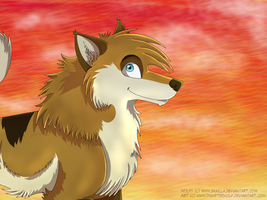 Gift - Wolpy by GlacialTephrite