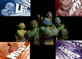TMNT (2012) by pokie4life