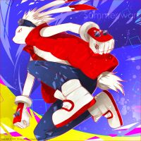 Summer wars---King Kazma by zxs1103