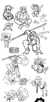 Picarto Doodles and Junk by WHATiFGirl