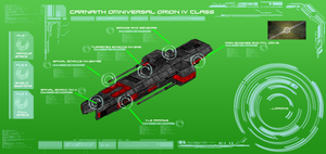 Carnaith Omniversal Empire Orion IV Class by EmperorMyric