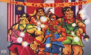 karikatur opini sea games 2007 by herpri