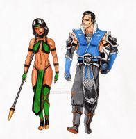 Sub-zero and Jade COPICS by Aremke