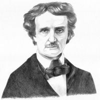 Poe: portrait by Crooty