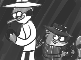 Spy vs. Spy by LotusTheKat