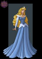 sleeping beauty blue by nightwing1975