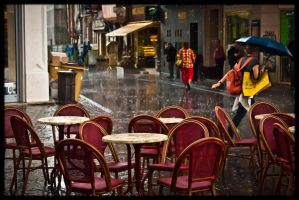 Colour under the rain... by MonLerma