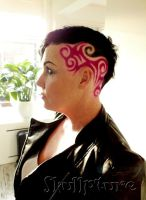 pink Hairtattoo by AngeLee-Loo