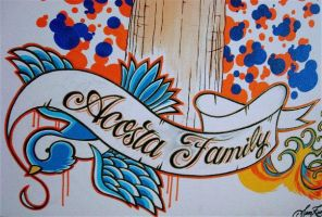 Acosta Family Tree 2 by samthedrawer