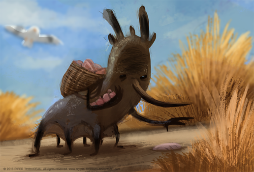 DAY 356. Shell Scavenger by Cryptid-Creations