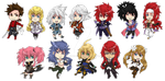 Tales of Symphonia Stickers by fir3h34rt