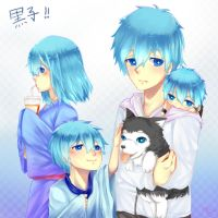 Kuroko Everywhere! by WhiteFai