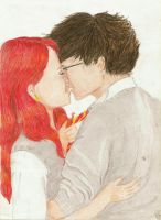 Lily and James by xLillyWonka