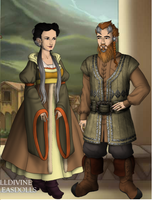 bifur's parents by art-is-my-bream