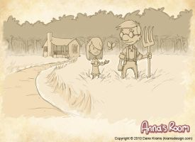 Anna's Room - Intro Art by Sughly