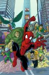 spiderman vs the sinister six by natelovett