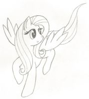 Fluttersketch by KirzStryfe