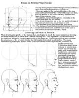 Facial Proportions Worksheet 2 by lantairvlea