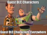 Guest DLC Characters Everywhere by WWEfan45