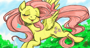 Fluttershy by Heavy-Weight