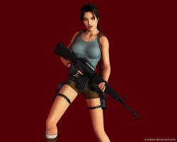 Lara Croft 73 by Nicobass