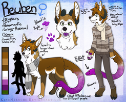 Commish:: Reuben. by KingNeroche